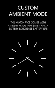 HD Watch face - Azure screenshot 2