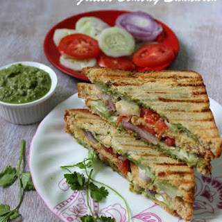Grilled Bombay Sandwich