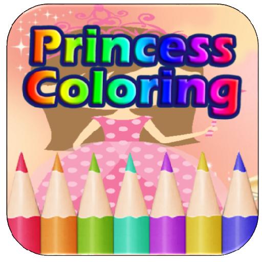 Princess Coloring Book Libby