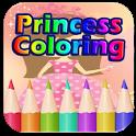 Princess Coloring Book Libby icon
