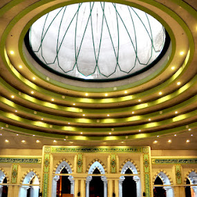 Inside of mosque by Muajiz  Muallim - Buildings & Architecture Other Interior