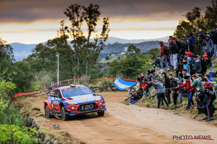 Thierry Neuville s'offre le Rallye d'Argentine et conforte son avance au classement des pilotes