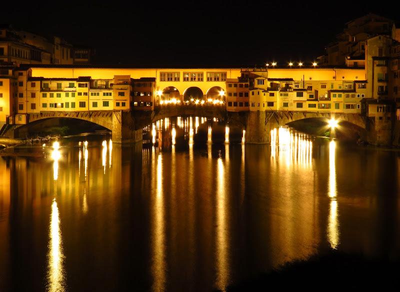 Le luci di Ponte Vecchio di Giorgio Lucca
