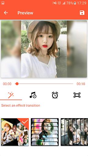 Video Maker from Photos, Music & video editor 1.0 screenshots 2