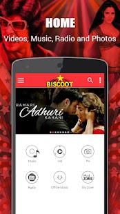Biscoot : Music, Video & Radio- screenshot thumbnail