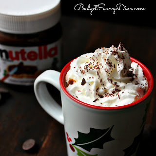 Homemade Nutella Hot Chocolate
