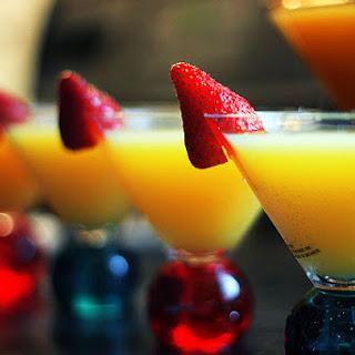 Champagne Mimosa Recipes.