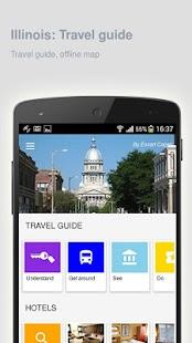 Illinois: Offline travel guide - náhled