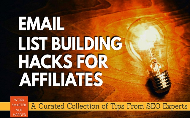 Email List Building (Growth Hacks Checklist)