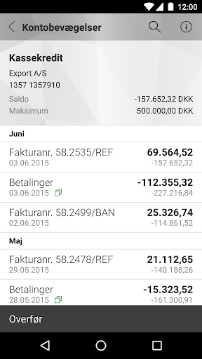 Mobilbank Erhverv screenshot 2