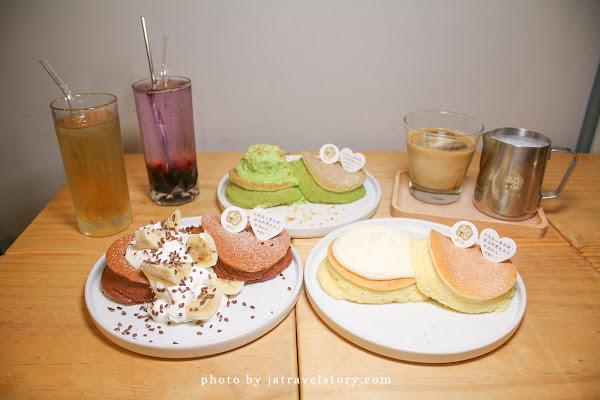KOKU café 榖珈琲 山苦瓜舒芙蕾鬆餅結合桂花蜜,甘甜清爽不苦!【捷運大安/捷運忠孝復興】