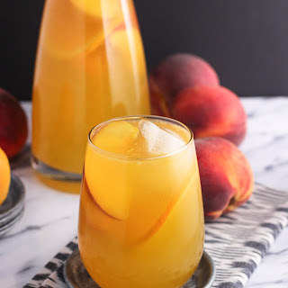Mango Peach White Sangria.