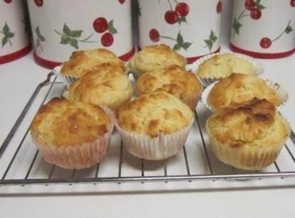 Crispy Tops And Soft Middles; 7-up Bisquick Corn Muffins.