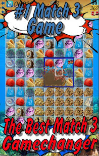 Shell Quest: Match-3 Game