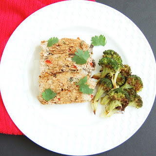 Asian-Style Turkey Meatloaf.