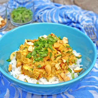 Chicken Curry with Cashews