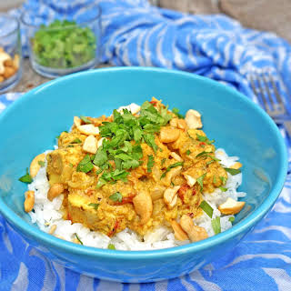 Chicken Curry with Cashews.