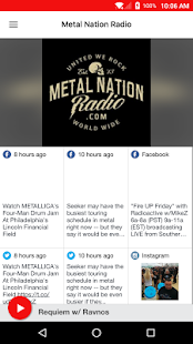 Metal Nation Radio- screenshot thumbnail