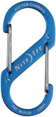 Nite Ize S-Biner #3 Aluminum Dual Carabiner, Anodized Blue alternate image 0