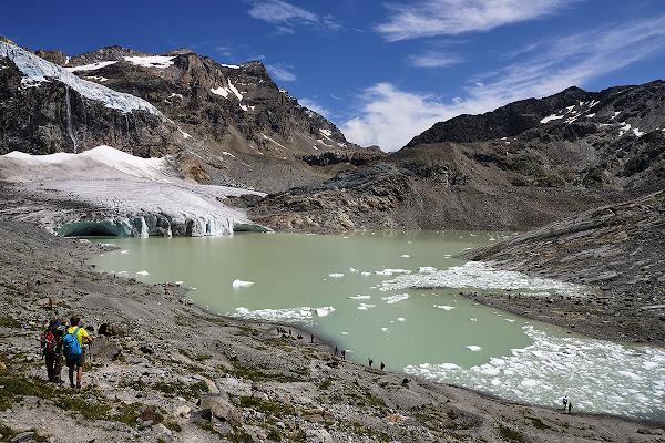Il ghiacciaio morente di Simone De Barba
