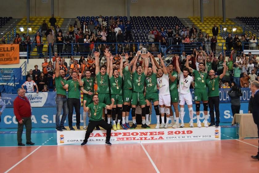 Unicaja, Rey de España de voleibol