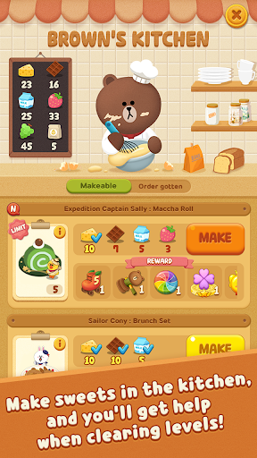 LINE POPChocolat screenshots 2