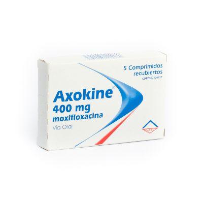 Moxifloxacina Axokine 400 mg x 5 Comprimidos