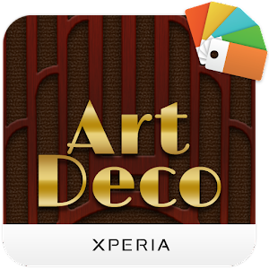 xperia art deco theme app report on mobile action. Black Bedroom Furniture Sets. Home Design Ideas