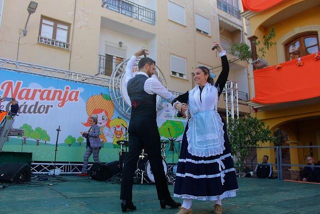 Con el baile del Fandanguillo de Almería realizado por Curro Ruiz y Begoña Almansa concluyó el acto institucional.