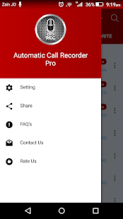 Automatic Call Recorder Pro 2019 - ACR Tool Screenshot