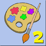 Coloring pages for children 2 Icon