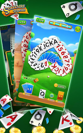 Solitaire Tripeaks - Free Card Games modavailable screenshots 5