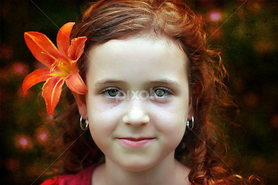 Red by Sandy Considine - Babies & Children Child Portraits