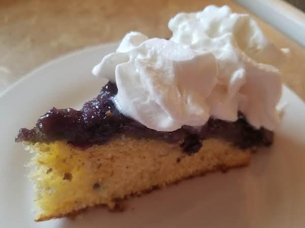 Banana Blueberry Upside-down Cake Recipe