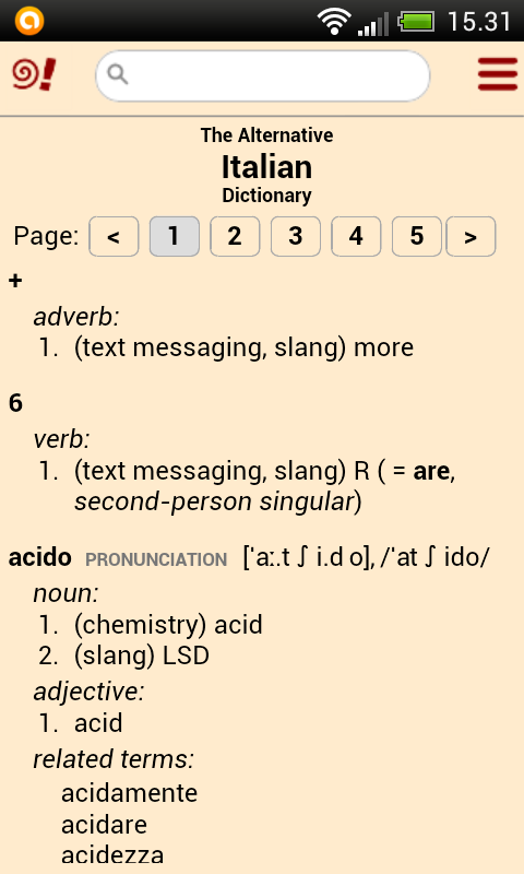 The Alternative Dictionaries- screenshot