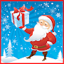 Santa runner (Christmas game) APK icon