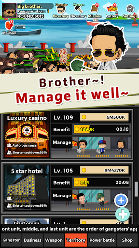 Idle Gangster 2.3.6 screenshots 2