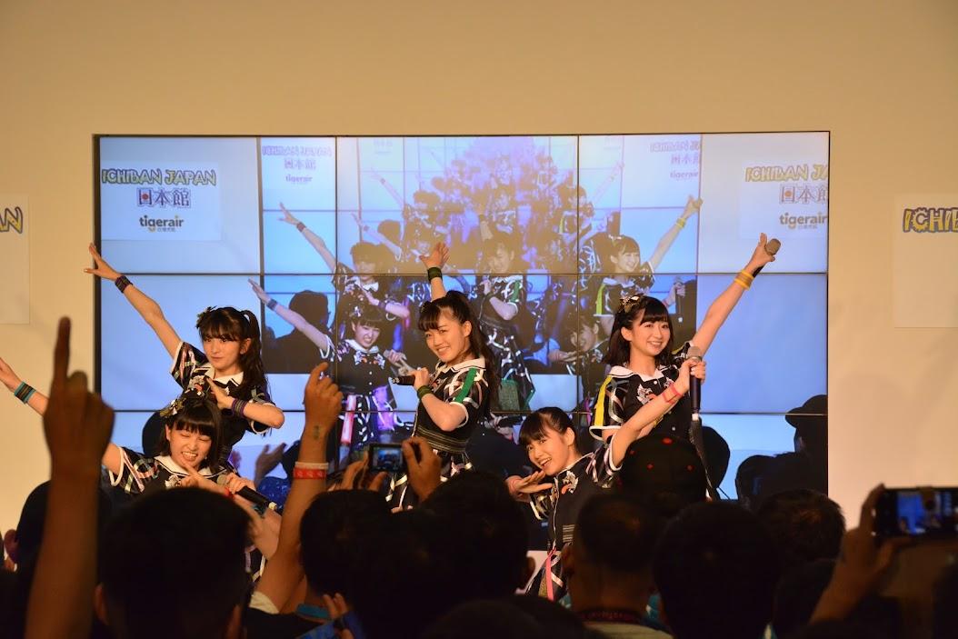 [迷迷動漫] 2019漫博 ICHIBAN JAPAN日本館  偶像大師 聲優 稻川英里 、 TEAM SHACHI 、 Batten Showjotai 和 TACOYAKI RAINBOW 輪番上陣