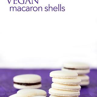 VEGAN macarons!.