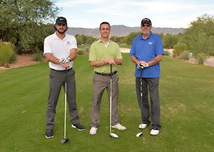 Photo: Michael Cambianaca, Stephen Gamst, Bill Guerin