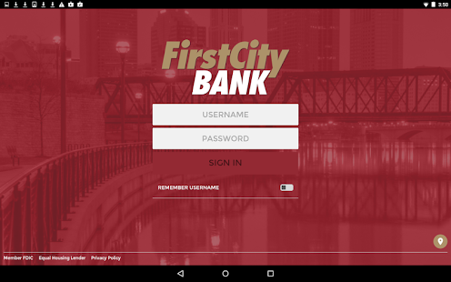 My First City Bank Mobile- screenshot thumbnail