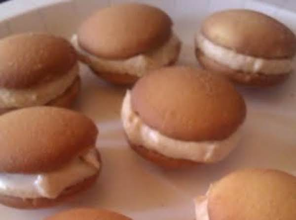 Cheating Peanut Butter Vanilla Macaroons