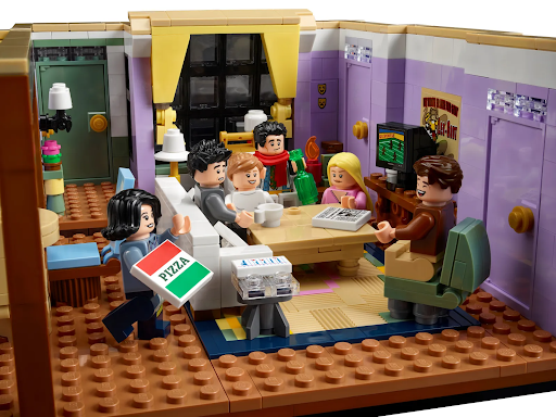 """LEGO's New Apartments Set Is a Must-Have for """"Friends"""" Fans"""
