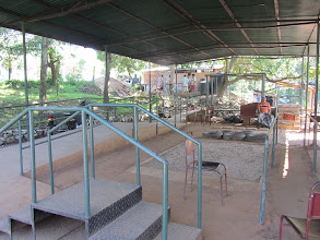 Photo: The outdoor amputee rehab facility at Jaipur Rehab Hospital.