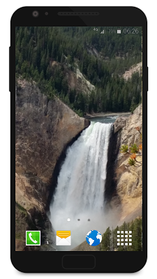 Waterfall as Live Wallpaper - screenshot
