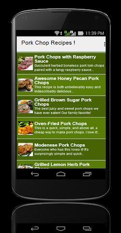 android Pork Chop Recipes ! Screenshot 2