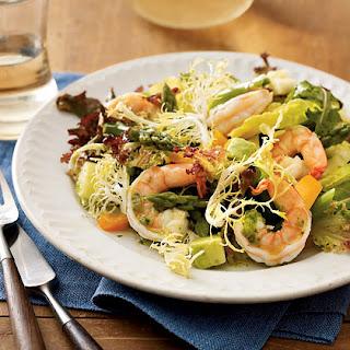 Shrimp and Asparagus Salad.