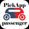 PickApp Taxi: book a cab ride, boda, courier Kenya icon