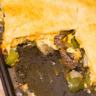Philly Cheese Steak Crescent Bake Recipe
