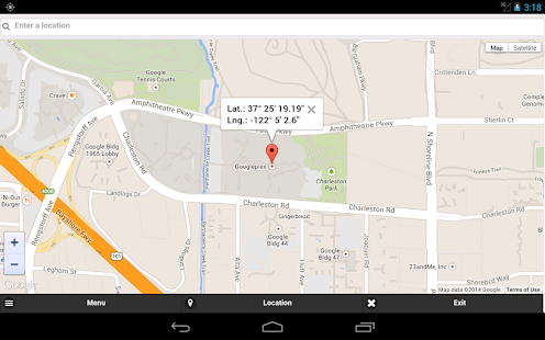 how to get gps from goog